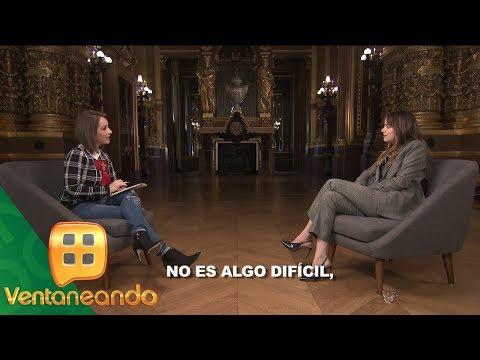 Dakota Johnson y Jamie Dornan en entrevista con La Choco  Ventaneando