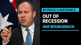 Treasurer Josh Frydenberg responds to rise in GDP figures   ABC News