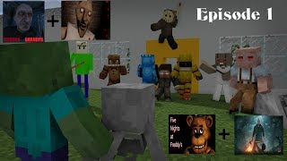 - Monster School Baldi s Jason Granny Grandpa FNAF Episode 1 Minecraft Animation