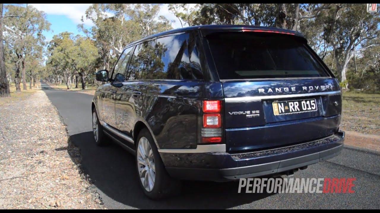 2013 Range Rover Vogue SE SDV8 engine sound and 0 100km h