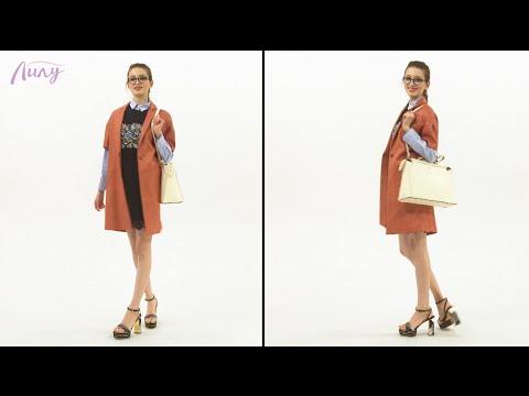 Гардероб: кружевное платье в офис