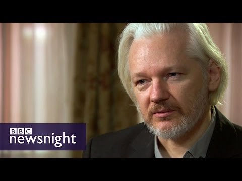 Julian Assange and The Wikileaks Files - Newsnight