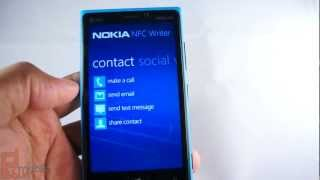 Nokia NFC Writer - how to create tags to automate feature, share contacts, launch apps, and more
