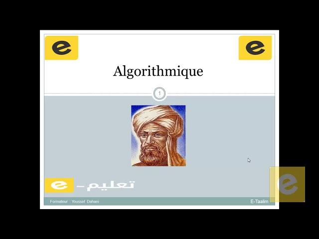 7 Algorithmique : lecture & écriture