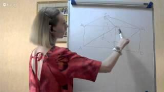 Стереометрия - Угол между прямыми - Призмы