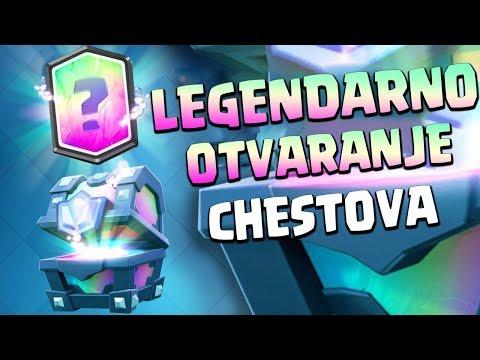 DVIJE LEGENDARNE I ČUDNI DEKOVI · Clash Royale