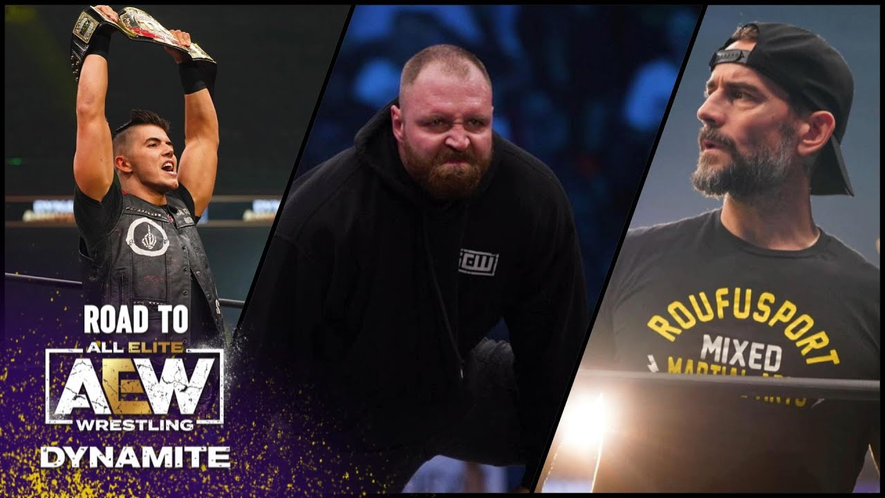 Punk v Fish + Guevara v Page + Mox v 10 Tournament Quarterfinal | Road to Dynamite Boston, 10/26/21
