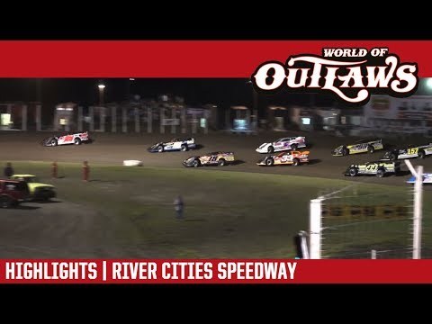 World of Outlaws Craftsman Late Models River Cities Speedway July 14, 2017 | HIGHLIGHTS