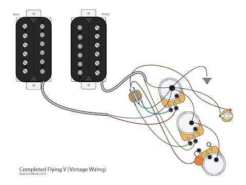 flying v w vintage wiring scheme 50 videos play all