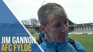 Jim Gannon Post-Match Interview - AFC Fylde