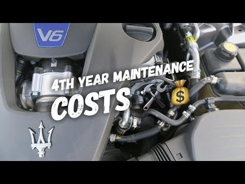 Maserati Ghibli 4th Year Service Costs HOW Much?!
