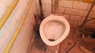 4. Недорогой ремонт квартиры под псевдо Loft. Решение по полу и трубам.