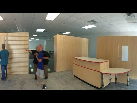 Modular Walls Installation
