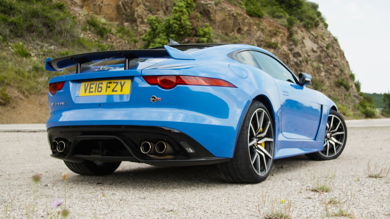 Jaguar F Type Svr Review The Best V8 Exhaust Noise Money Can Buy Youtube