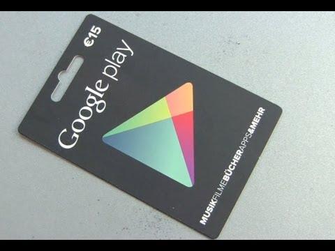 Google Play Store Karten rubbeln und einlösen
