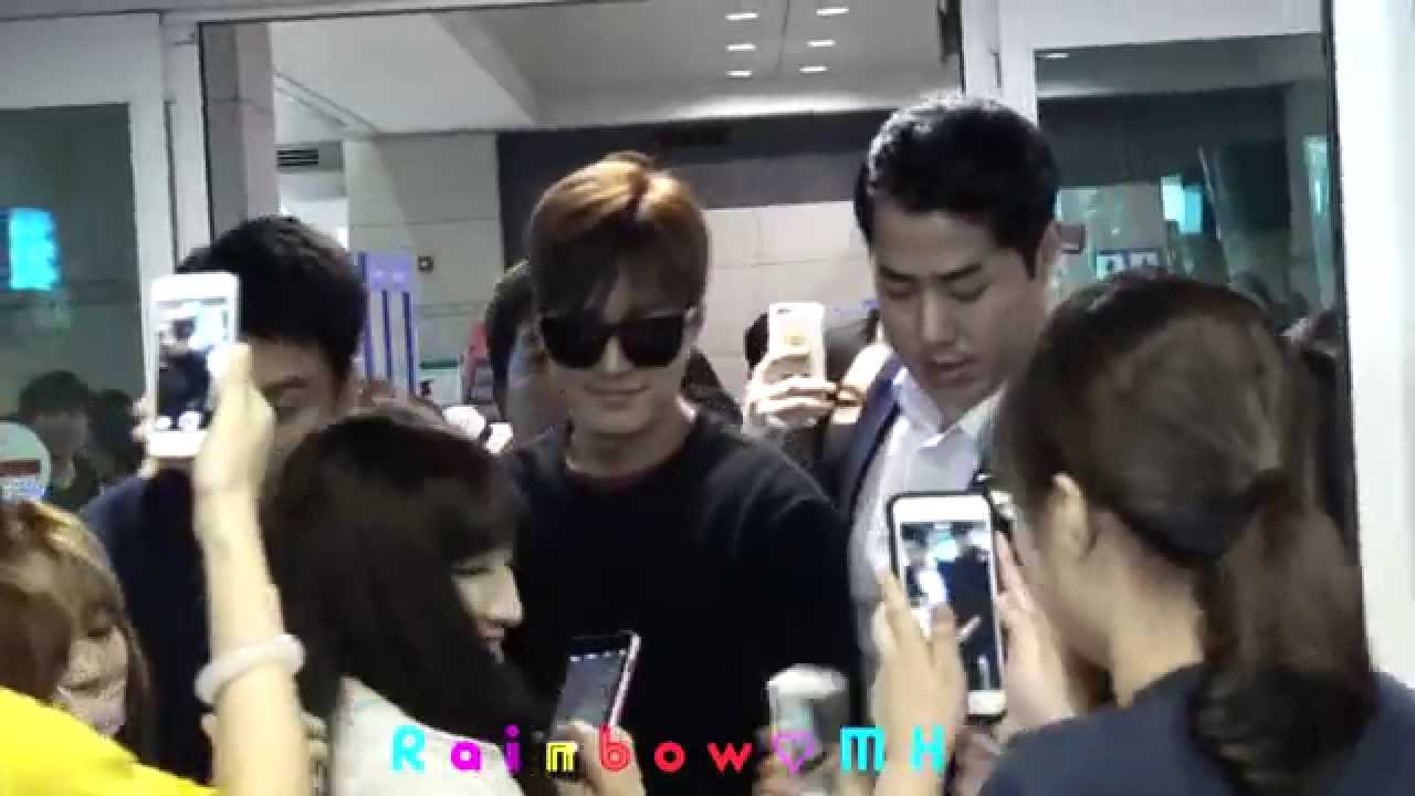 [FanCam] 20150724 LeeMinHo Incheon Airport 입국 from China Guangzhou~~by Rainbow_MH(수정본)