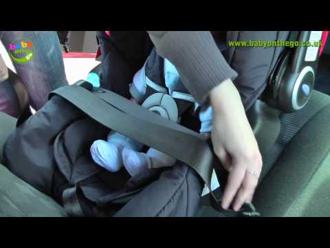 Graco Logico S HP Car Seat (Rear Facing Seat) Fitting Guide