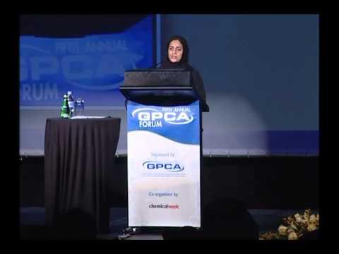 Sheikha Lubna Al-Qassimi Speech - The Fifth Annual GPCA Forum