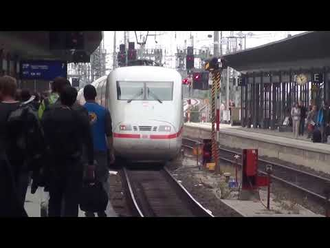 Interesting Riding With German Inter City Express ICE Train