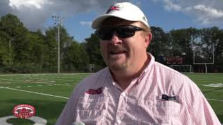 Jacksonville State Football 2018 - Marching Southerners Share Practice Field with Football Team