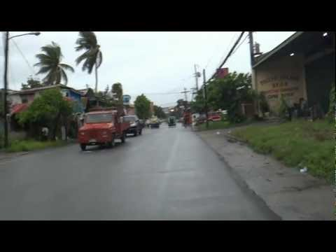 Walking through the streets of Surigao Del Norte in the Philippines.