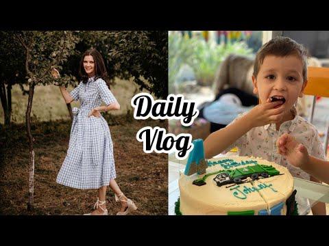 Daily vlog | Cum se filmează filmele în America | Ziua de naștere a lui Johnny