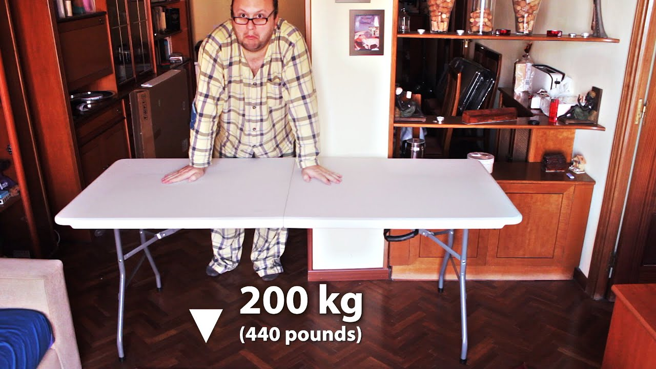 6ft Centerfold Folding Table 180cm X 74cm Unboxing And Setup Cosco Redwood Leisure Todeco