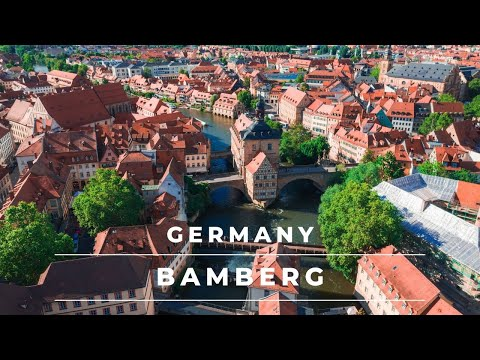 Bamberg, Germany in 4k cinematic | The beautiful town of Bamberg in Bavaria – Travel Germany