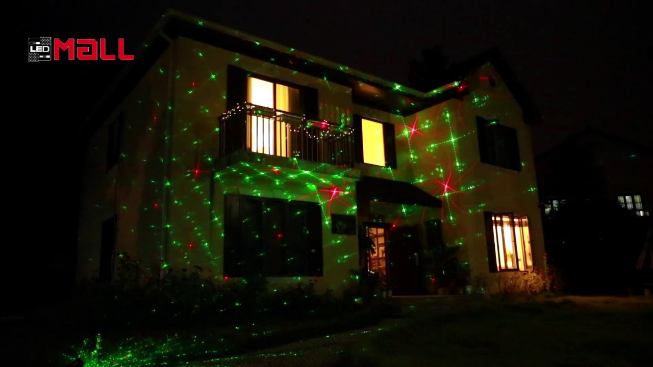 new ledmall moving rgb 8 patterns in 1 laser christmas lights events and holiday lights