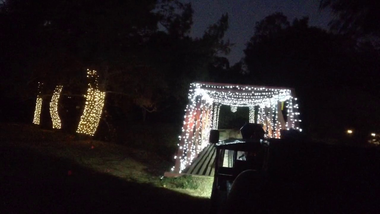 Griffith Park Christmas Train Ride 2015