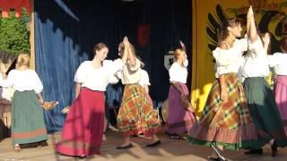 Old german dance Castle celebrate Windeck