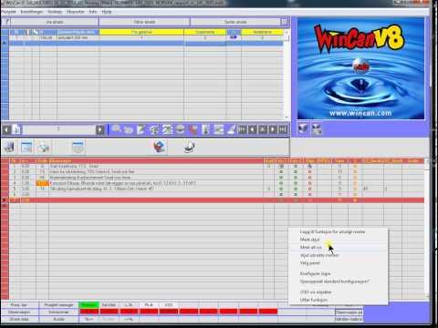 WinCan 8 OSD Button INC 0 NOR