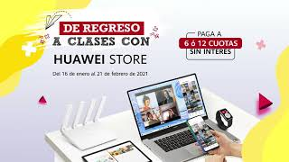 Back to School 2021 con Huawei