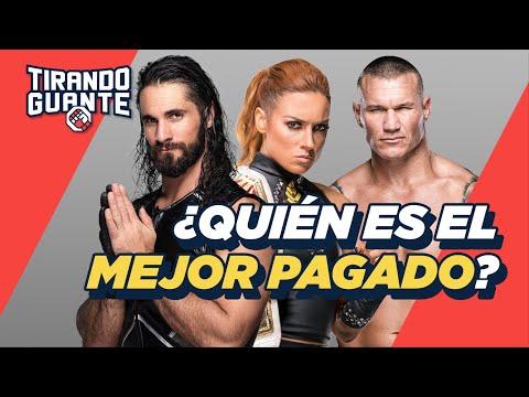 ¿CUÁNTO GANAN los luchadores de la WWE?  | Tirando Guante | S1EP9