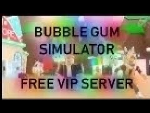 Roblox Bubble Gum Simulator Free Vip Server (Link in The Description)