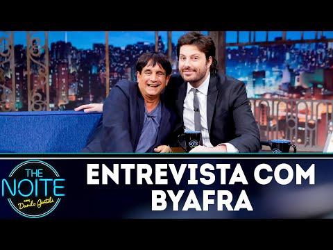 Entrevista com Byafra | The Noite (19/07/18)