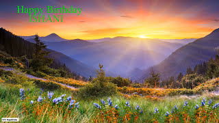 Ishani  Nature & Naturaleza - Happy Birthday