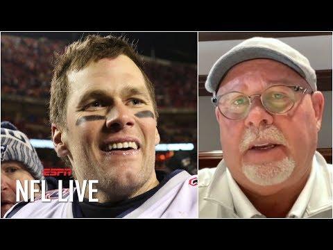 Bruce Arians explains how the Bucs got Tom Brady | NFL Live