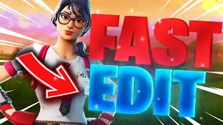 Fortnite Edit Mode Aim Assist Is Godly! 😨(Edit Rule)😨 How To Make Faster Edits & Improve Editing‼️