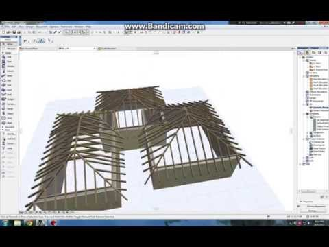 Archicad 19 Roof Maker Youtube