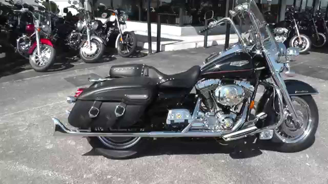 Harley Road King For Sale >> 648522 - 2000 Harley Davidson Road King Classic FLHRC - Used Motorcycle For Sale - YouTube