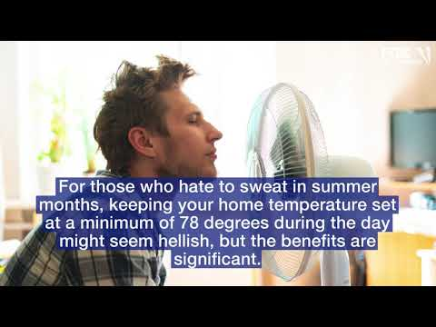 Federal Program says Above 78 Degrees Is What Your Home Temp Should Be