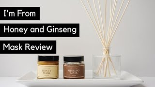 I'm From Honey and I'm From Ginseng Wash-Off Mask Reviews