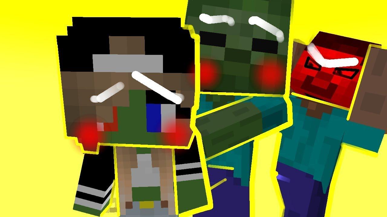 Minecraft Zombie Girl Life - Nyepi o