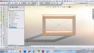 Использование библиотеки  прямоугольных и квадратных труб в Solidworks(, 2014-04-15T19:00:59.000Z)