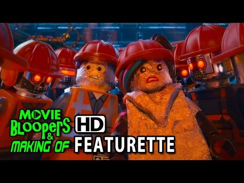 The Lego Movie (2014) Featurette - Creating the Bricks