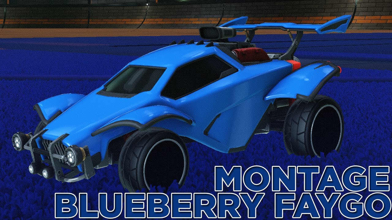 """Rocket League Montage """"Blueberry Faygo"""" Lil Mosey"""