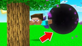 I Used BLACK HOLE TNT In My Minecraft World!