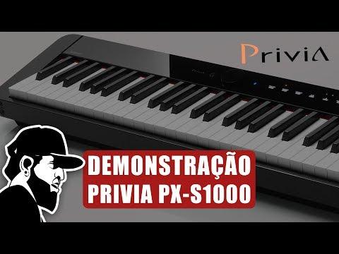 Demonstração Completa   Casio Privia PX-S1000 (PXSMEP02)