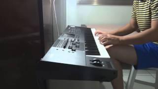 venho senhor minha vida oferecer teclado piano vitorxf7